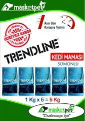 Trendline Balıklı Yetişkin Kedi Maması 1000 Gr (1 Kg)* 5 Adet