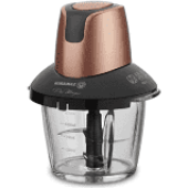 Korkmaz A460 05 Pro Magıc 4 Bıçaklı Cam Doğrayıcı Rosagold Siyah
