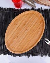 Molino Bambu Oval Sunum Tabağı Tepsisi 33 Cm