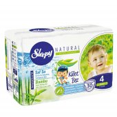 Sleepy Natural Külot Bez 4 Numara Maxi (7 14 Kg) 30 Adet