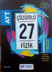 Yanıt Yayınları Ayt Fizik Çözümlü 27 Denemesi