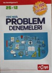 Nego Yayınları Yeni Nesil Problem Denemeleri Soru Bankası