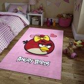 Merinos Halı Lisanslı Angry Birds Valentine Çocuk Halısı 100x150