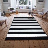 Payidar Halı Roya Fb45 Siyah Beyaz Modern Halı 120x180 Cm