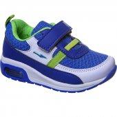 Sanbe 26 30 Cırtlı Işıklı Lastikli Erkek Spor Ayakkabı Mavi