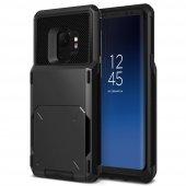 Vrs Design Samsung Galaxy S9 Damda Folder Kılıf Metallic Black