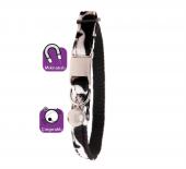 Karlie Manyetik Kedi Tasma 30cm Siyah Beyaz