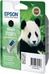 Epson (093 187) 400 440 460 500 600 Siyah Kartuş