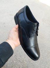 Büyük Beden 45 46 47 48 New Prato Erkek Ayakkabı B1 Siyah Antik Deri