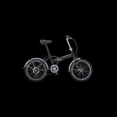 Salcano Easy Lux 20 Jant, Alüminyum Kadro, Katlanır Bisiklet