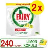 Fairy Tablet Hepsi Bir Arada 120li X 2 (Limon)