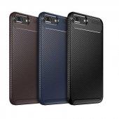 Edelfalke Apple İphone 7 Plus Negro Silikon Kılıf Siyah