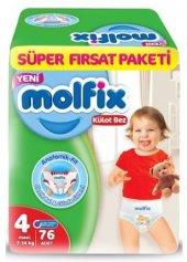 Molfix Pants Külot Bez Maxi 4 Beden 76 Adet 7 14 Kg