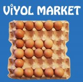 30&#039 Lu Karton 15,5 Lbs Yumurta Viyolü Küçük Ve...