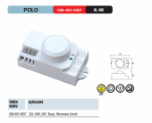 Horoz Polo Harekete Duyarlı Radar Sensör Ücretsiz Kargo