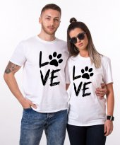 Tshirthane Love Pati Sevgili Kombini Tişörtleri