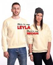Tshirthane Leyla Mecnun Erkek Sevgili Kombinleri Sweatshirt