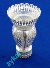 Th 30 Telkari Gümüş Vazo