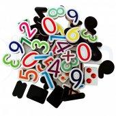 Manyetik Sayılar Eğitici Dolap Mıknatısı 58 Parça