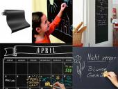 Yapışkanlı Kara Tahta Yazı Tahtası Sticker Black Board