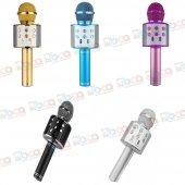 Ws 858 Bluetooth Karaoke Sihirli Mikrofon Kablosuz...