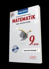 Limit Yayınları 9.sınıf Matematik Konu Bitirme Kitabı