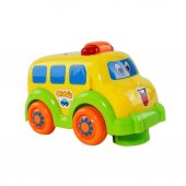 Oyuncak Araba Pilli Çarp Dön Sevimli Erkek Çocuk Oyuncak Araba