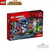 Lego Juniors Spider Man İle Scorpion Sokak Karşılaşması Eğitici Z