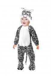 Zebra Kostümü Bebek Kıyafeti