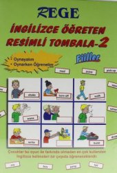 Rege İngilizce Öğreten Resimli Tombala 2 Fiiller