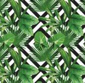 Floral Collection 5113 Tropikal Yaprak Desenli Duvar Kağıdı