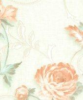 Murella 100 M7652 Çiçek Görünümlü Vinil Duvar Kağıdı
