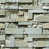 Elemental 42003 2 3d Taş Görünümlü Duvar Kağıdı