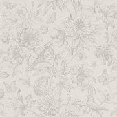 Florentine Iı 449433 Çiçek Desenli Duvar Kağıdı