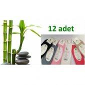 12li Bambu Çorap 100 Organik Bambu Bayan Babet Çorap