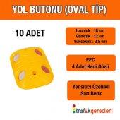Yol Butonu (Oval Tip) 10 Adet