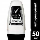 Rexona Roll On Men 50 Ml Invisible Black White