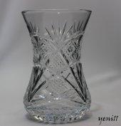 Kristal Kesme Riva Desen İnce Belli Çay Bardağı 6 Adet
