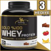 Torq Nutrition Gold %100 Whey Protein Tozu 2300 Gr 3 Aroma Seçeneği