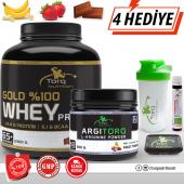 Torq Nutrition Gold %100 Whey Protein Tozu 2300 Gr + Argıtorq L Arginine 300 Gr