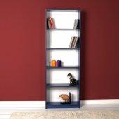 Adore Modern 5 Raflı Kitaplık Lacivert