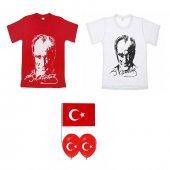 23 Nisan Atatürk Baskılı Tişört 23 Nisan Tişörtü P...