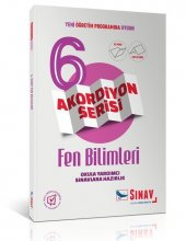 6. Sınıf Fen Bilimleri Akordiyon Kitap Sınav Dergisi Yayınları