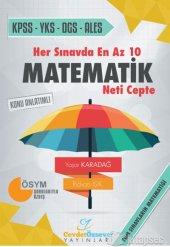 Her Sınavda En Az 10 Matematik Neti Cepte Konu Cevdet Özsever