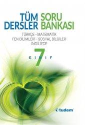 7.sınıf Tüm Dersler Soru Bankası Tudem Yayınları