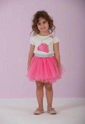 Lome Kız Çocuk Etek Bluz Takım