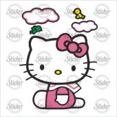 Hello Kitty Sticker 20171