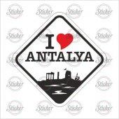 ı Love Antalya Sticker 20125