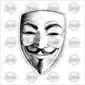 V For Vendetta Sticker 20101