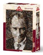 Art Puzzle Mustafa Kemal Atatürk (Kolaj Puzzle) 1000 Parça Puzzle